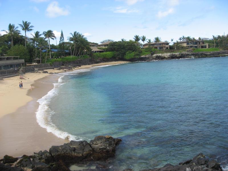 Secluded white sandy beach at Kahana Sunset - Kahana Sunset 2 BR Condo, Ocean View, Great Beach - Kahana - rentals