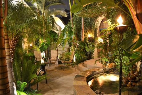 Backyard at night - Two homes in one w/ a backyard paradise! - San Diego - rentals