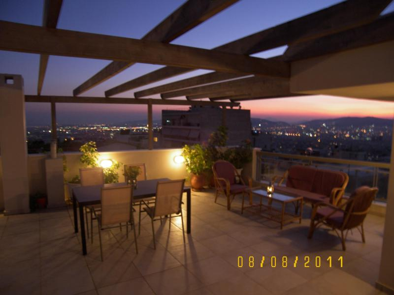 view from terrace - Amazing view - 1 bedroom, sleep 2-5, Athens Center - Athens - rentals