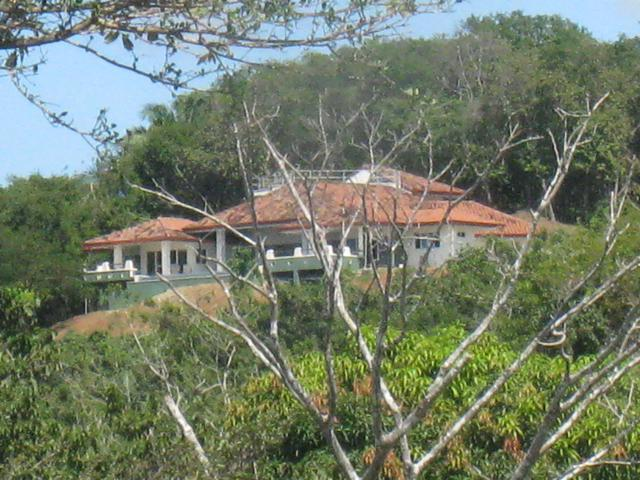 Casa del Sol view from afar - Spectaculr Hme InfinityPool Mins 2 Bst Beach in CR - San Juanillo - rentals