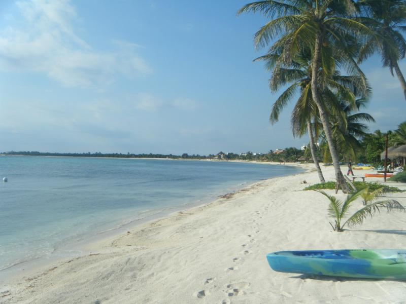 White Sands of Soliman in front of Nah Lu'um Ka'an - Nah Lu'um Ka'an (The House of Earth and Sky) - Soliman Bay - rentals