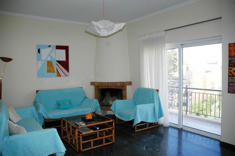 sitting room - Flat in P.Faliro  near the sea ,center and Piraeus - Athens - rentals