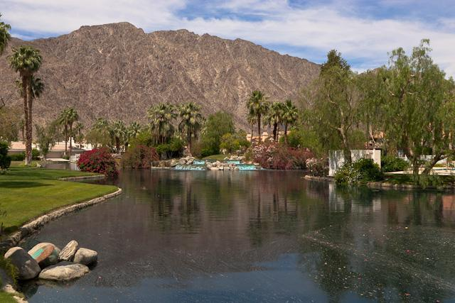 Come stay at this magical oasis in the desert - PGA West condo w/ tranquil mountain and lake views - La Quinta - rentals