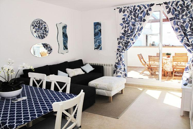 BLUESKY apartment in Sitges. Bright penthouse. - Image 1 - Sitges - rentals