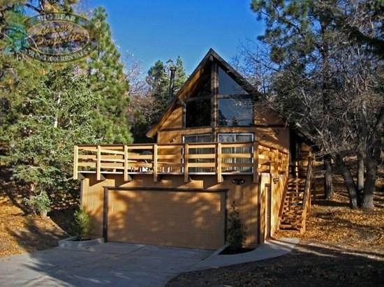 Inspiration Retreat - front of the cabin - Inspiration Retreat - 3 Bedroom Vacation Rental in Big Bear Lake - Big Bear Lake - rentals