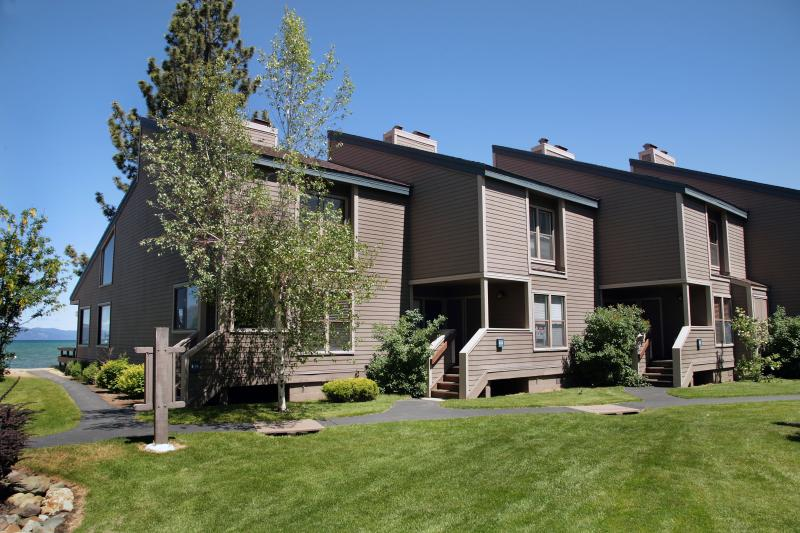Front Entrance to our Townhome - Lakefront townhouse/condo - South Lake Tahoe - rentals