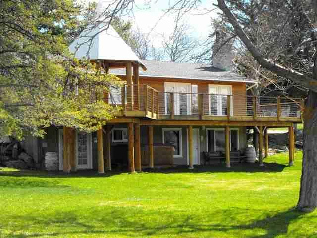 Front of the Home from the Road - Spectacular View on 4 Acres and Walk to Wineries - Manson - rentals