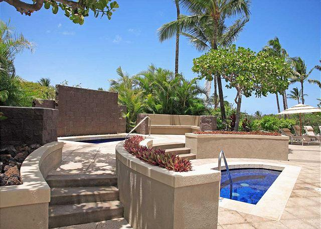 SAILINE SPA WITH KID POOL - SUMMER SPECIAL 7th NIGHT FREE -New additions! Beautiful Clean & elegant 2BR. - Waikoloa - rentals