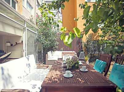 112 Marvellous Garden Apartment / 4 BR - Image 1 - Istanbul - rentals