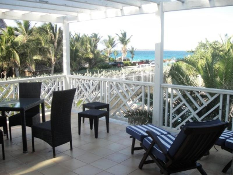 Caribbean Princess A2, Orient Beach, St Martin, view from balcony - CARIBBEAN PRINCESS A2... overlooking the pool and on to Orient Beach and the sea, this affordable 2 bedroom unit is just the ticket for a fun filled vacation! - Orient Bay - rentals