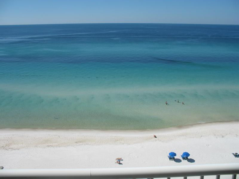 Beach view from our balcony - Aug 8 - 16, ONLY $1,650 - ALL inclusive! - Panama City Beach - rentals
