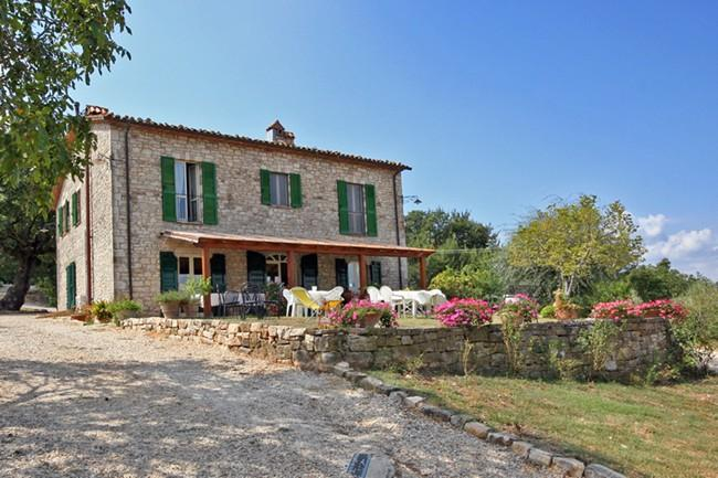 Villa with Pool for Family or Friends in Umbria Countryside Near Todi - Casa Todi - Image 1 - Todi - rentals