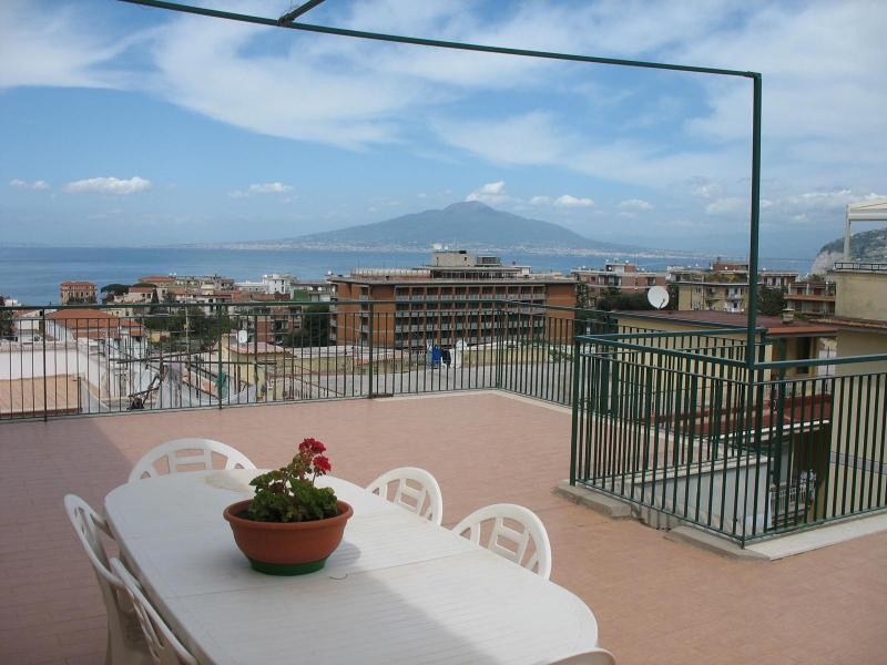 Terrace - Sorrento Penthouse in the Center, amazing view - Sorrento - rentals