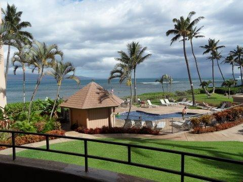 Great view from lanai and living room - Beautifully Furnished - Spectacular Oceanview Maui - Maalaea - rentals