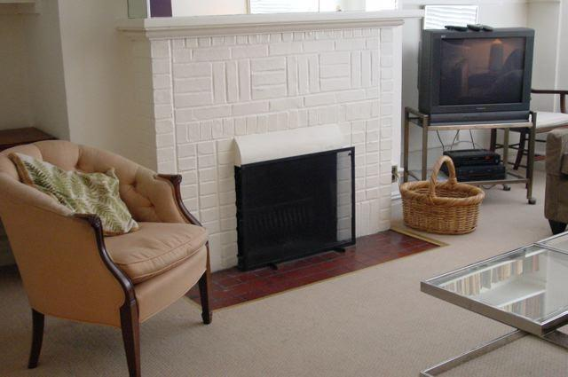 Living Room/Fireplace - E. 65th St. 1B/1BA block from Central Park! - Manhattan - rentals