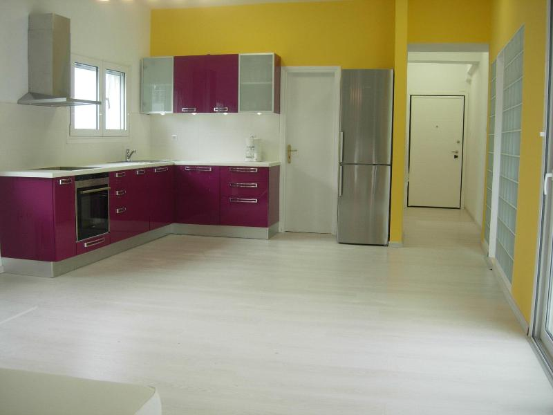 Stylish kitchen and entrance hall. Only 15 minutes drive from the center of Athens - LOCATION! beach sea view near Athens/port tram/bus - Athens - rentals