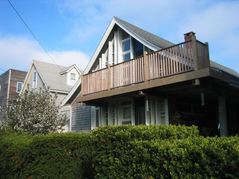 View from Commercial Street - Historic Beachfront Cottage - Provincetown - rentals