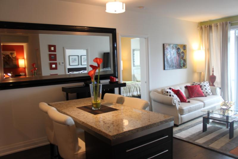 Living Room - A 5 Star Luxury Downtown~TIFF Bell LightBox BOOK NOW! - Toronto - rentals