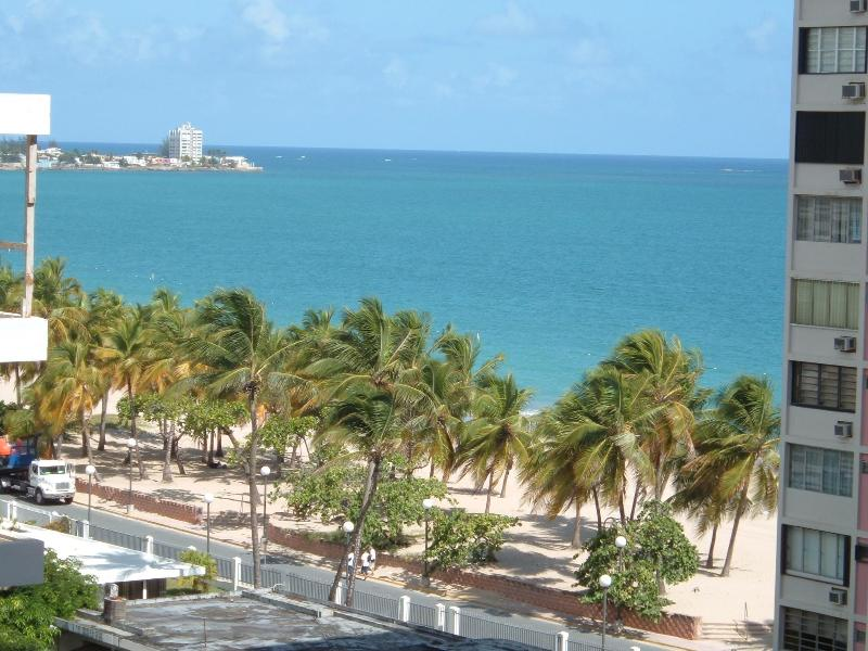 View from balcony - Luxurious Apt w/direct access to Isla Verde beach! - Carolina - rentals