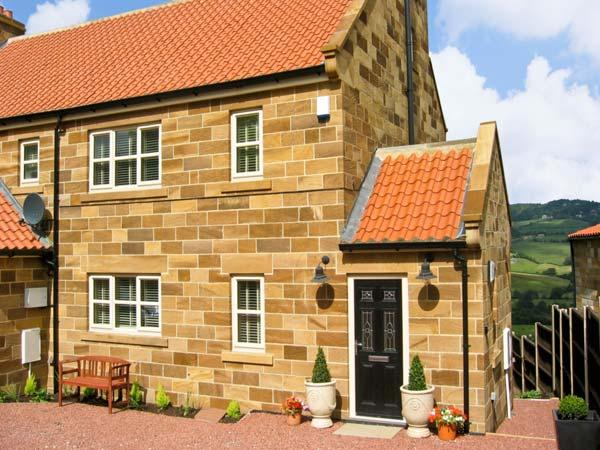 COWSLIP COTTAGE, pet friendly, luxury holiday cottage, with a garden in Sleights, Ref 7314 - Image 1 - Sleights - rentals