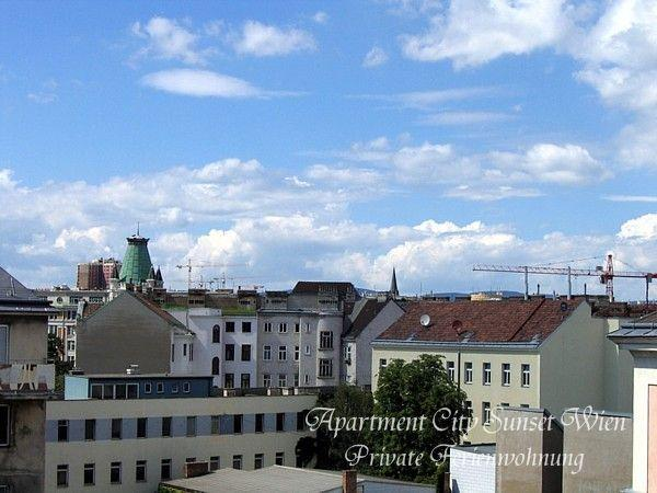 View from rooms & kitchen - Apartment CITY SUNSET Center: Metro, Wi-Fi, Garage - Vienna - rentals