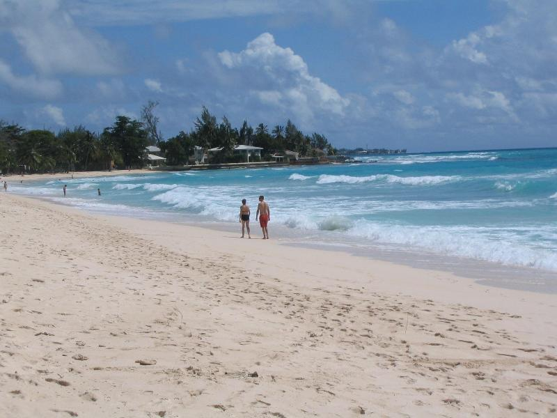 Pristine Dover Beach...less than 100 yards away - Beautiful Condo in St. Lawrence Gap, Barbados - Saint Lawrence Gap - rentals