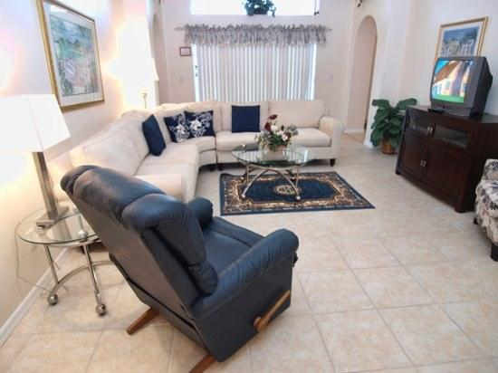 Family Room - IC4P8068SD 4 BR Best Deal Pool Home Close To Disney - Four Corners - rentals