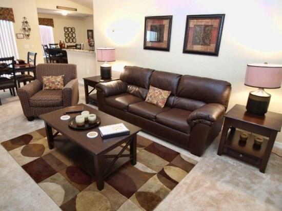 Living Area - RTC3P304RD Elegant 3 Bedroom Pool Home with Conservation View - Davenport - rentals