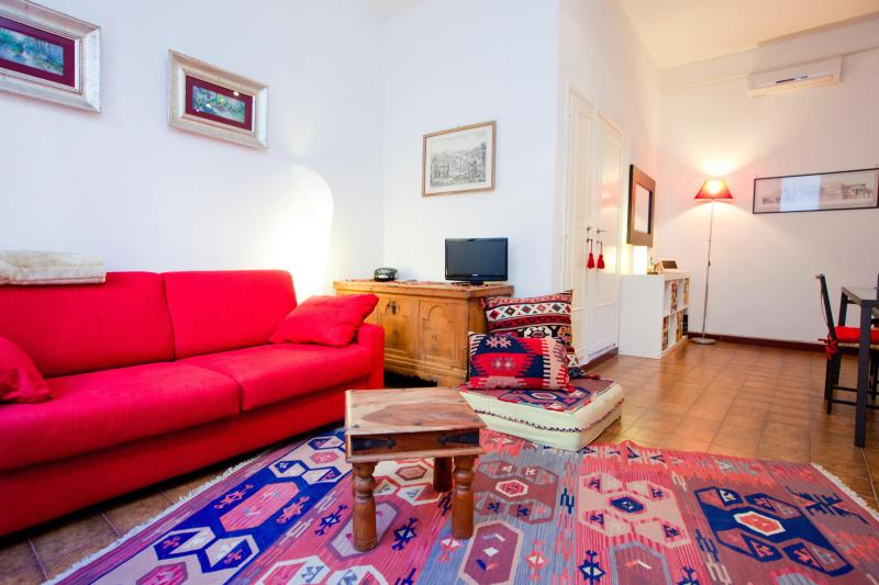Living - COLOSSEUM: RomAntica INN apartment - Rome - Rome - rentals