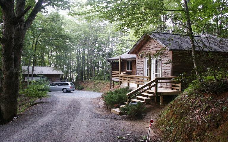 the view at the end of the road - www.thecabininthewoods.com - Robbinsville - rentals