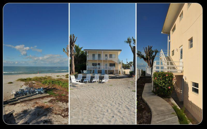 Sandpiper Condo, this listing is for the lower unit only - Beachfront Condo on the Beautiful Gulf of Mexico - Longboat Key - rentals
