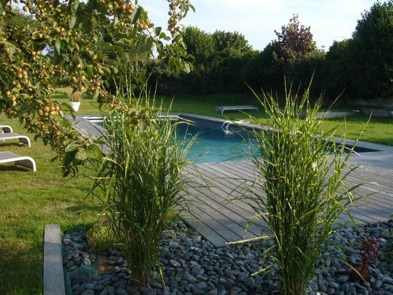 Heated Pool and deck - BEEHOME GUEST HOUSE HONFLEUR, NORMANDY - Honfleur - rentals