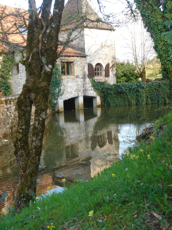 "Moulin Exterior (main house) - Ancient Stone Barn   -  ""Rouge""  2 bedrooms sleeps 4 - Cazillac - rentals"