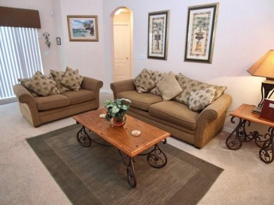 Living Area - SC5P17625WW 5 Bedroom Vacation Home w/ Private Pool - Clermont - rentals