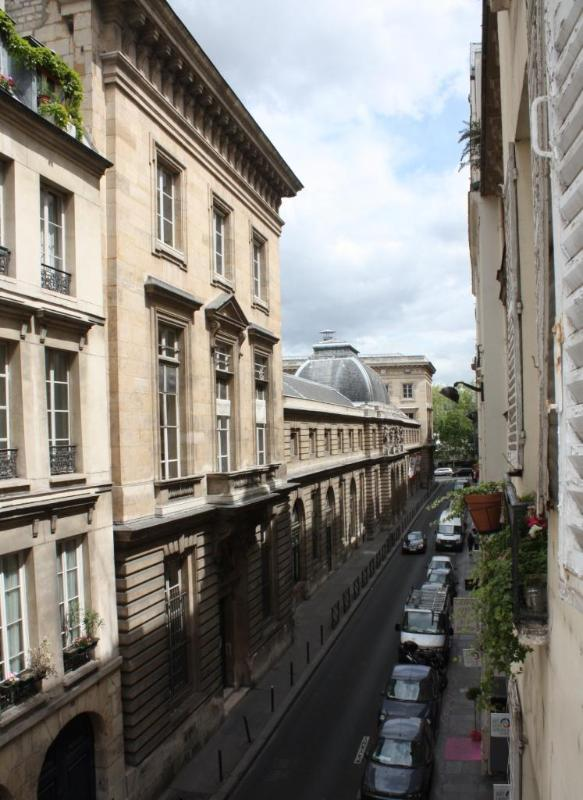 view from the living room - Brand new - In the heart of Paris - Notre Dame - 6th Arrondissement Luxembourg - rentals