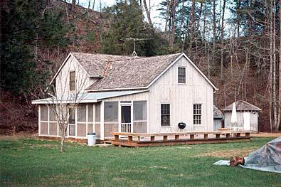 back of house with porch - Ayuwasi House, at Spring Creek Retreat - Reliance - rentals