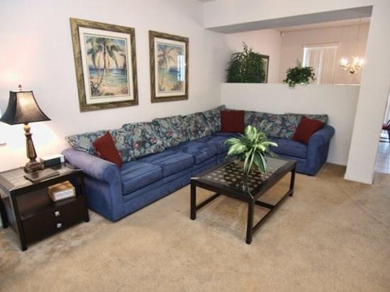 Living Area - TC5P233SRD Lovely 5 Bedroom Villa with Lake View and WiFi - Davenport - rentals