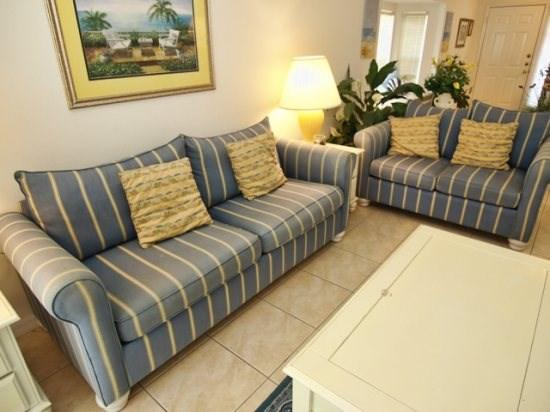 Living Area - SD4P3098BL 4 Bedroom Holiday Villa 15 Miles drive to Disney - Haines City - rentals