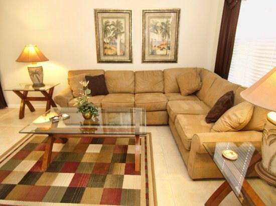 Living Area - WH6P7752GS 6 Bedroom Disney Home in Resort Style Abode - Kissimmee - rentals