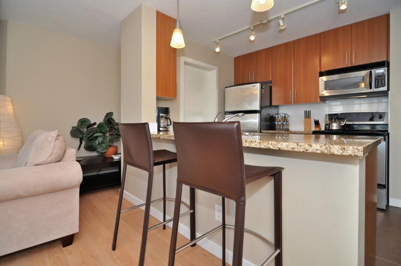 Open plan living area. - Downtown Vancouver Modern 1 Bedroom Condo Walk to Attractions and Amenities - Vancouver - rentals