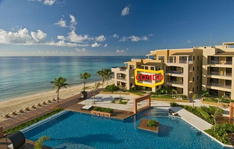 Our Condo Pictured Here Directly Overlooking Ocean and Pool - Beachfront 35%Off! Ocean View!Pool,4 Beds, El Faro - Playa del Carmen - rentals