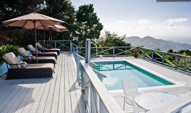 pool, deck and wonderful view - 20% off which is $3849 p/wk also 30% off available - Saint Thomas - rentals