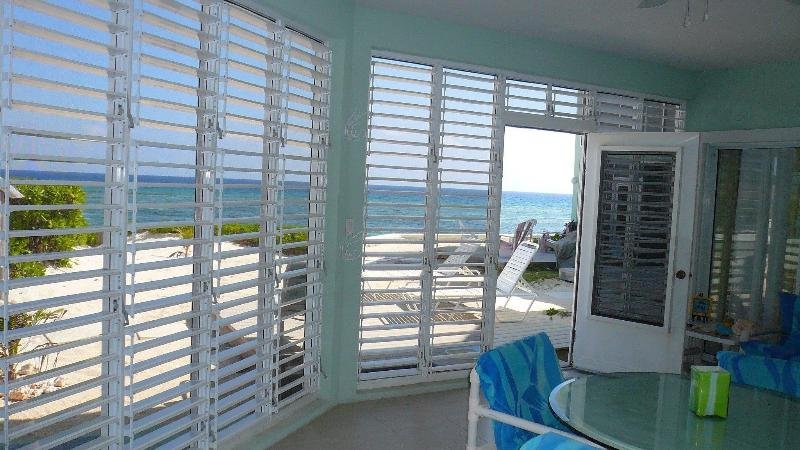 Beachfront ground floor condo rental The Laurelei - Image 1 - Rum Point - rentals