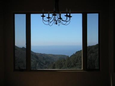 Dining view - Big Sur Ocean View 1 - 3 Bed Home, LMD $245 Studio - Big Sur - rentals