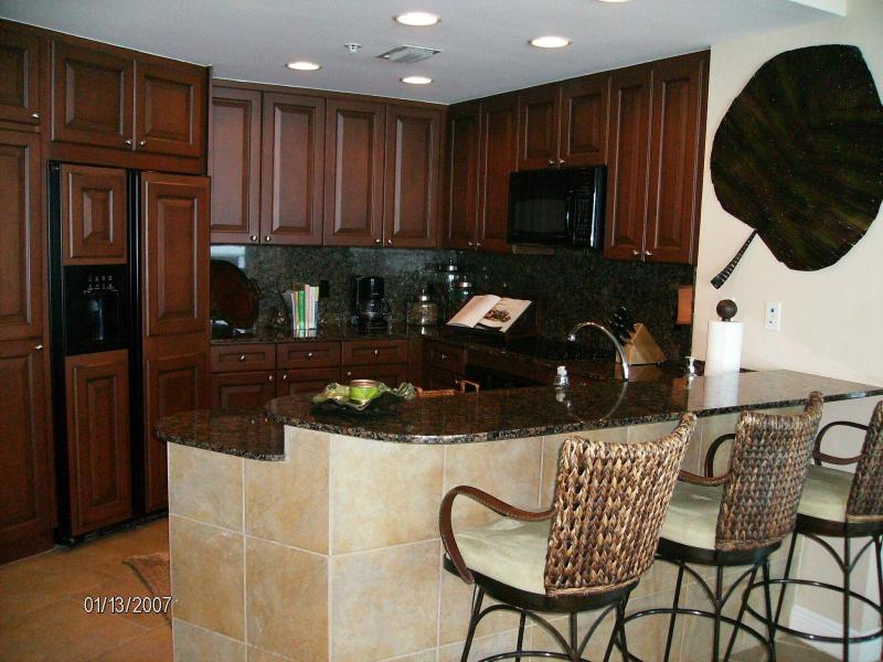 Kitchen - 1201E Amazing GULF FRONT Portofino Luxury Vacation - Pensacola Beach - rentals