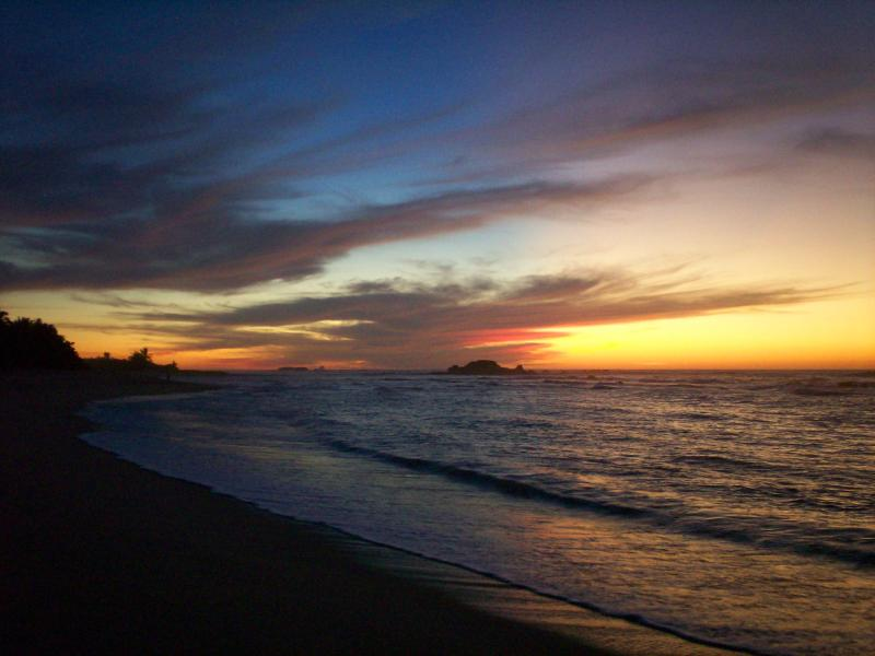 Enjoy this Gorgeous Sunset Each Evening! - Beachfront in Luxurious Punta Mita, Golf, Surfing! - Punta de Mita - rentals