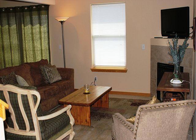 PV204 Pleasing Condo w/Fireplace, Clubhouse, Garage, Great Views - Image 1 - Silverthorne - rentals