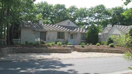 Plenty of parking in front of house - New Seabury -  3 bedroom w/ AC in Mews village - Mashpee - rentals