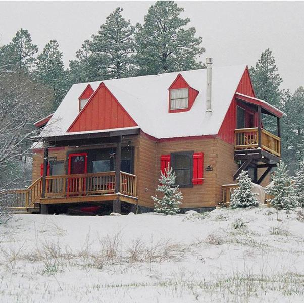 Charming Log Cabin in the Woods - Acorn Cottage Log Cabin,Stunning Views,Hot Tub,Ski - Pagosa Springs - rentals