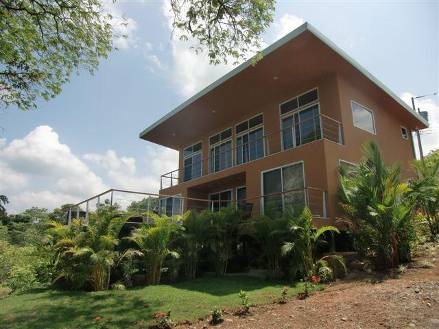 Front of the house and landscape - Luxurious Low Cost Costa Rican Villa w/Ocean View! - Manuel Antonio - rentals